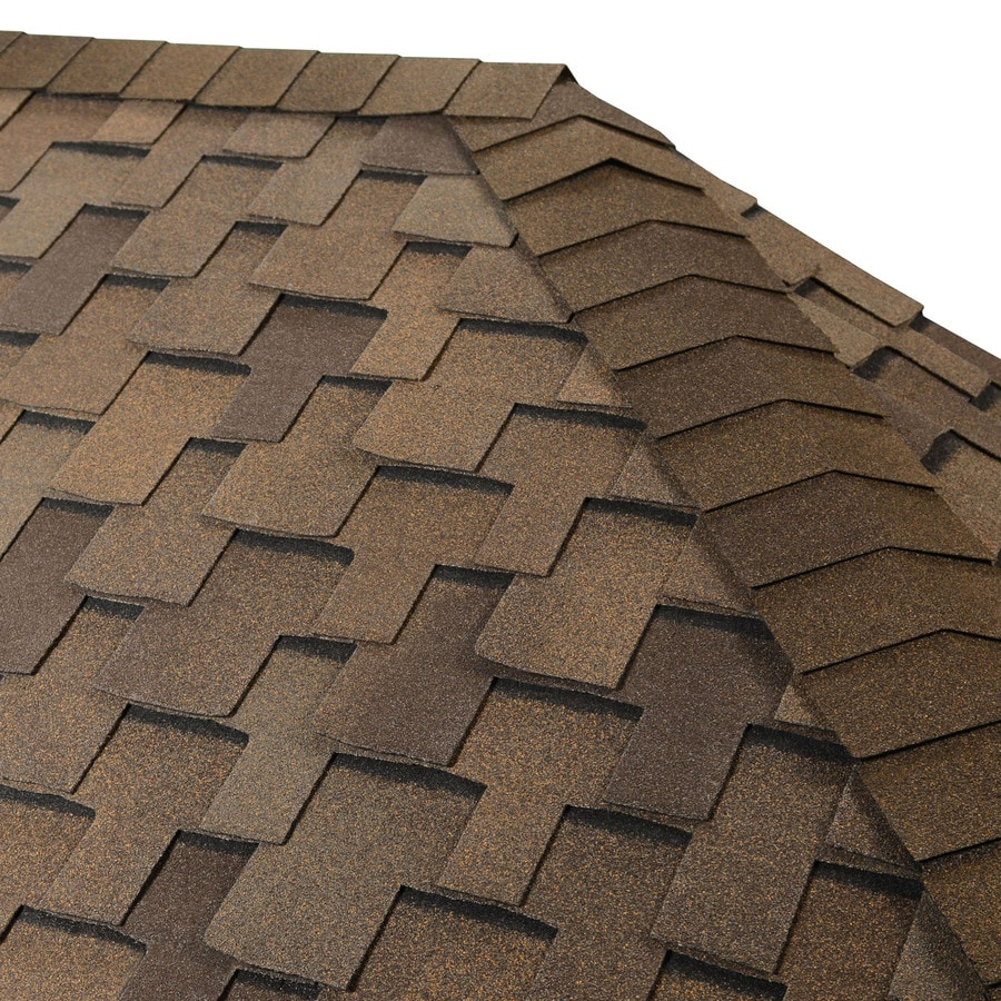 GAF Seal-A-Ridge IR 25-lin ft Seal-A-Ridge IR Adobe Sunset Hip and Ridge Roof Shingles