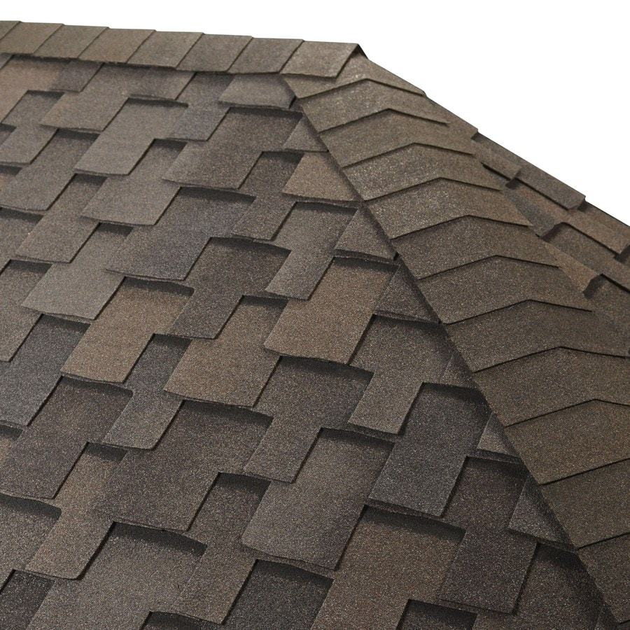 GAF Seal-A-Ridge IR 25-lin ft Seal-A-Ridge IR Dusky Gray Hip and Ridge Roof Shingles