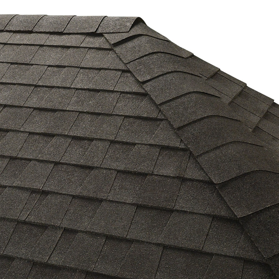 GAF Seal-A-Ridge IR 25-lin ft Charcoal Hip and Ridge Roof Shingles