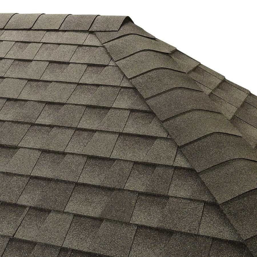 GAF Seal A Ridge Ir 25-lin ft Slate Hip and Ridge Roof Shingles