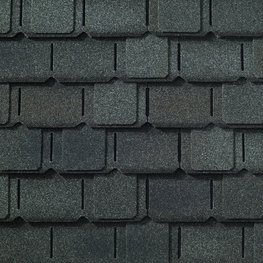 GAF Camelot 14-sq ft Majestic Navy Laminated Architectural Roof Shingles