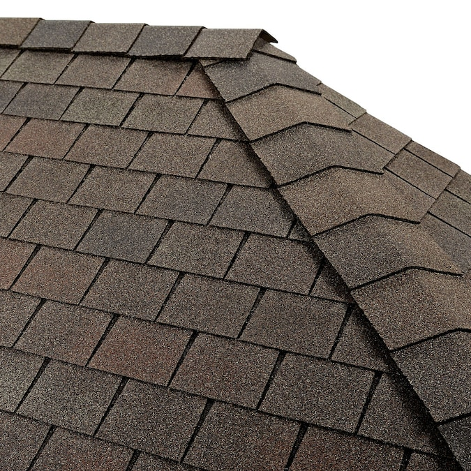 Gaf Timbertex 20 Lin Ft Royal Slate Laminated Hip And Ridge Roof Shingles In The Roof Shingles Department At Lowes Com