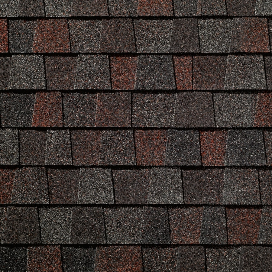 GAF Timberline American Harvest 33.3-sq ft Midnight Blush Laminated Architectural Roof Shingles