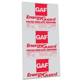 Gaf Common 1 In X 4 Ft 8