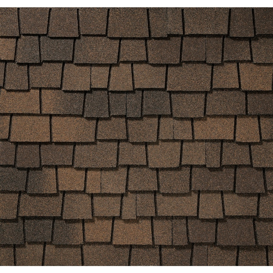 GAF Glenwood 11.11-sq ft Adobe Clay Laminated Architectural Roof Shingles