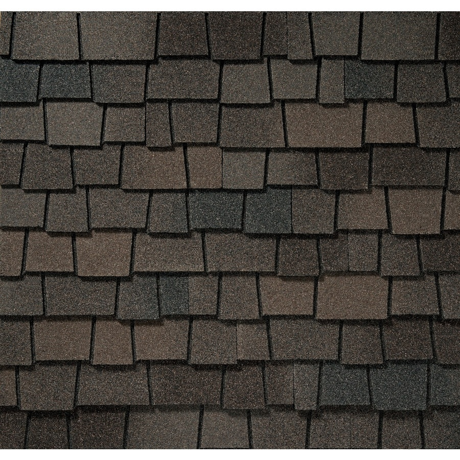 GAF Glenwood 11.11-sq ft Dusky Gray Laminated Architectural Roof Shingles