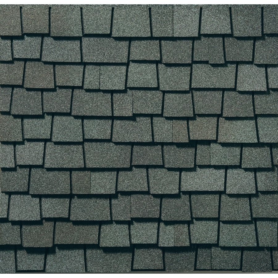 GAF Glenwood 11.11-sq ft Chelsea Gray Laminated Architectural Roof Shingles