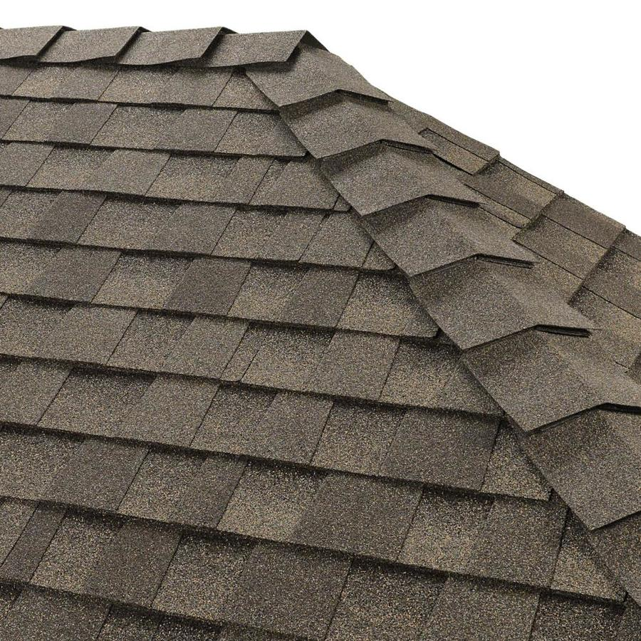 GAF Ridglass 31-lin ft Sagewood Hip & Ridge Roof Shingles