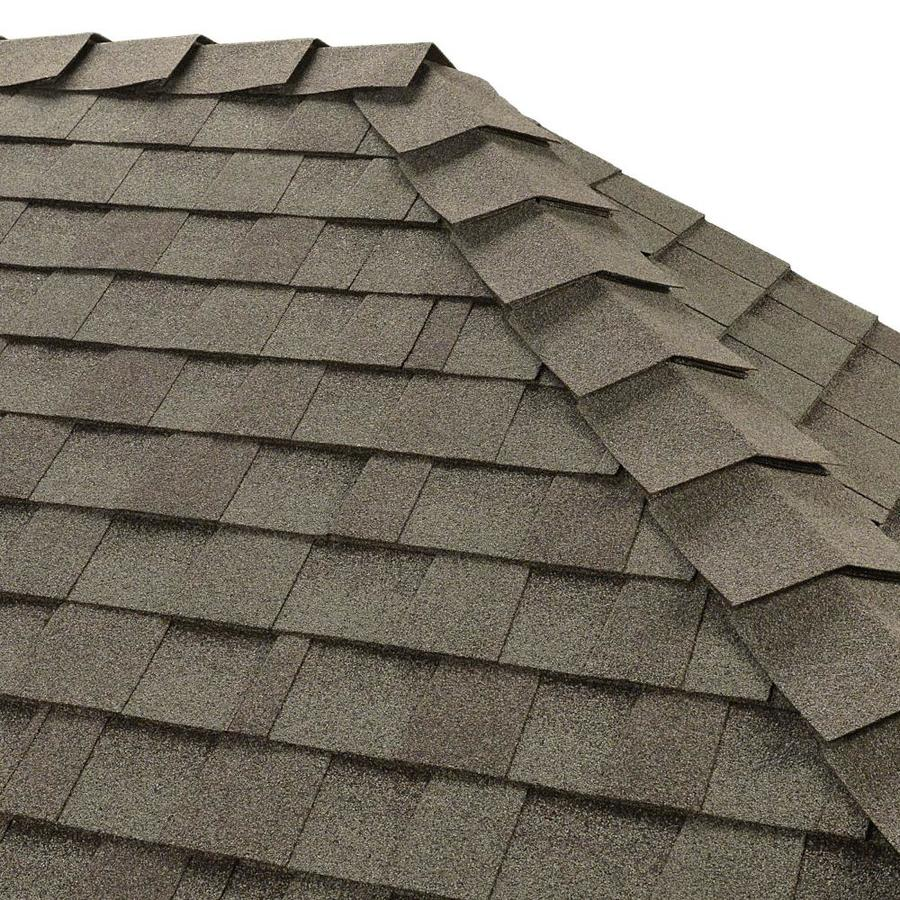 GAF Ridglass 31-lin ft Coastal Slate Hip & Ridge Roof Shingles