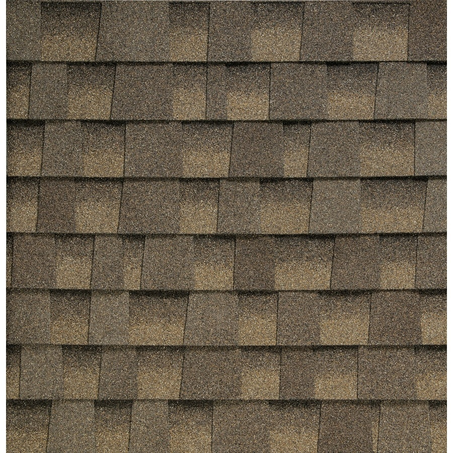 GAF Timberline HD Reflector 33.33-sq ft Aged Chestnut Laminated Architectural Roof Shingles
