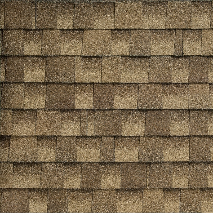 GAF Timberline HD Reflector 33.33-sq ft Sandalwood Laminated Architectural Roof Shingles