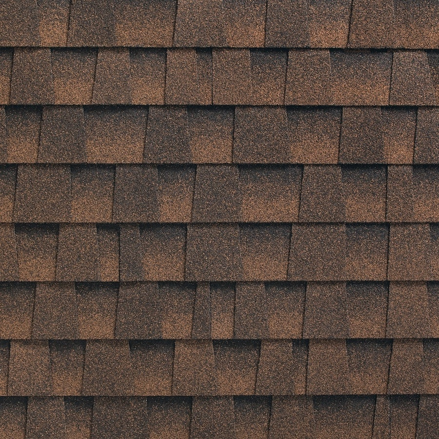 GAF Timberline HD Reflector 33.33-sq ft Hickory Laminated Architectural Roof Shingles