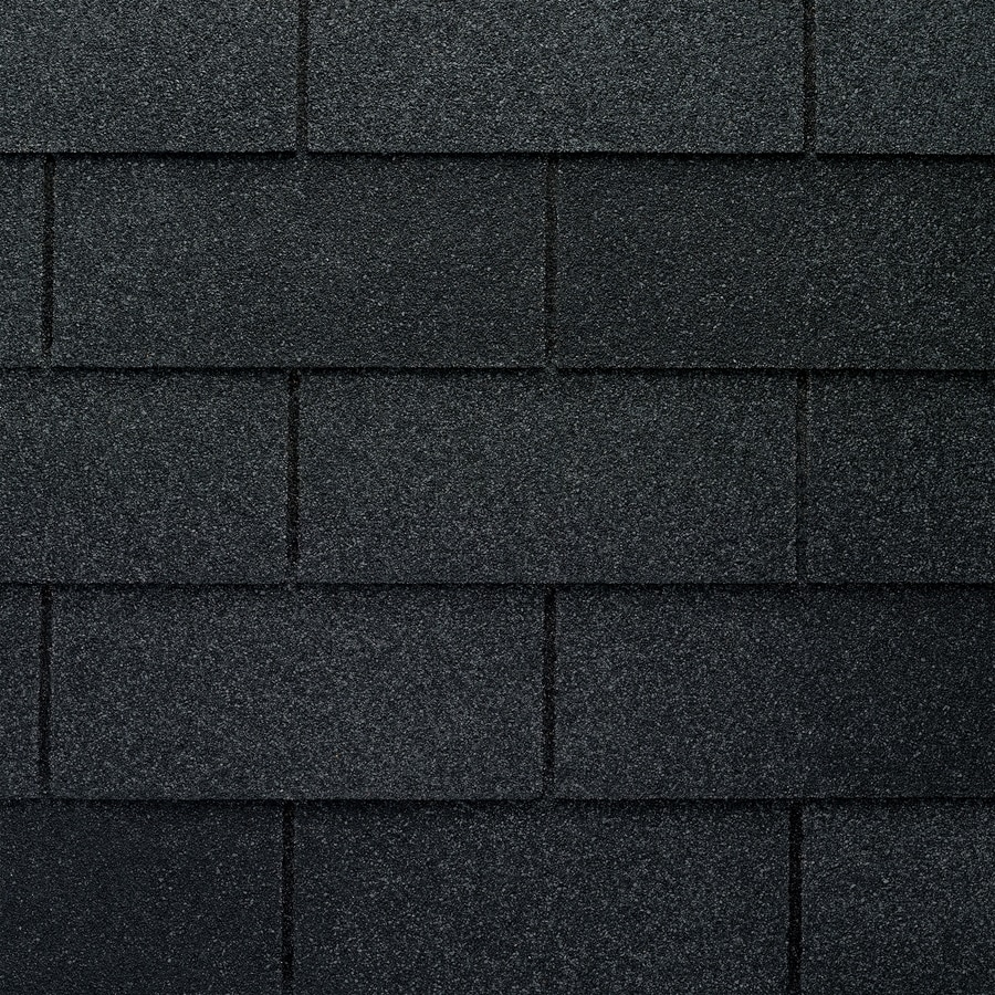 gaf marquis weathermax 3333 sq ft charcoal laminated 3 tab roof shingles - Roof Shingles Lowes