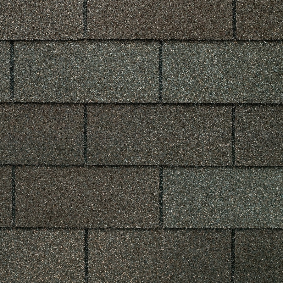 GAF Marquis Weathermax 33.33-sq ft Weathered Gray Laminated Traditional 3-Tab Roof Shingles