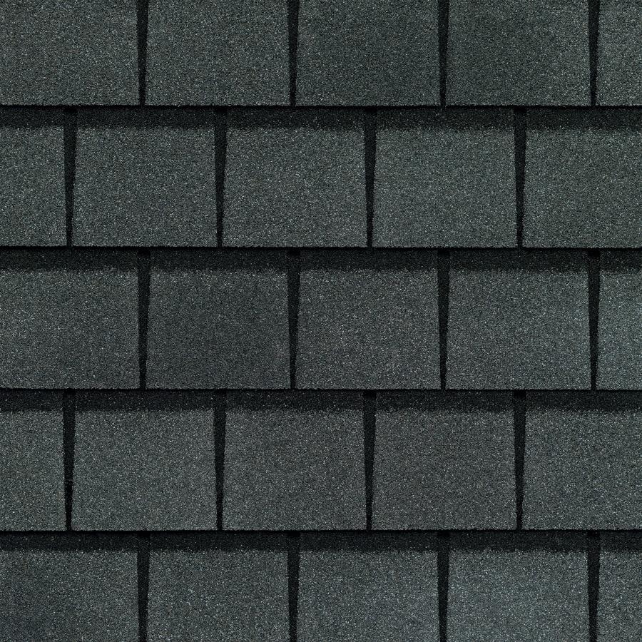 GAF Slateline 33.33-sq ft Antique Slate Architectural 5-Tab Roof Shingles