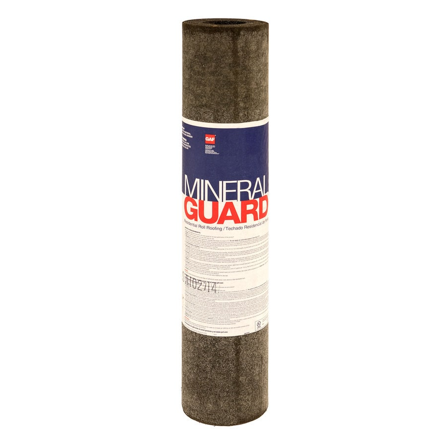 GAF Mineral Guard 3.33-ft W x 32.58-ft L 100-sq ft Summer Sage Roll Roofing