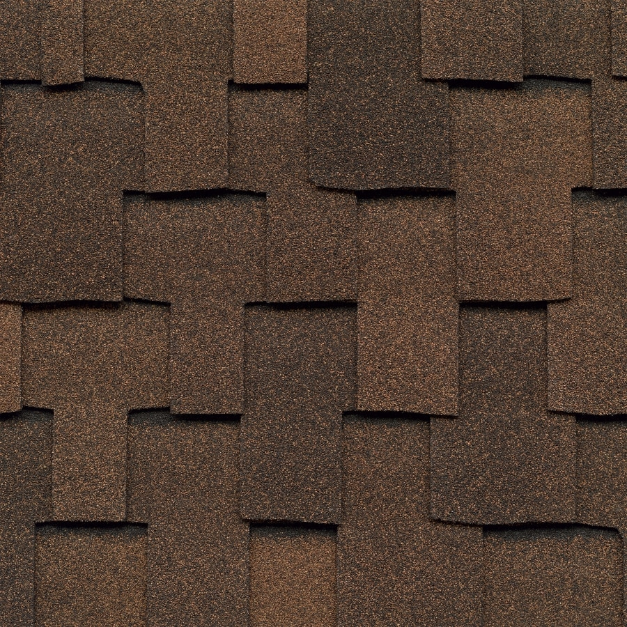 GAF Grand Sequoia 20-sq ft Mesa Brown Laminated Architectural Roof Shingles