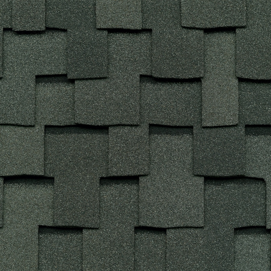 GAF Grand Sequoia 20-sq ft Slate Laminated Architectural Roof Shingles
