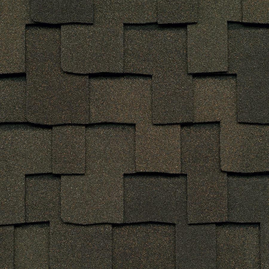 GAF Grand Sequoia 20-sq ft Weathered Wood Laminated Architectural Roof Shingles