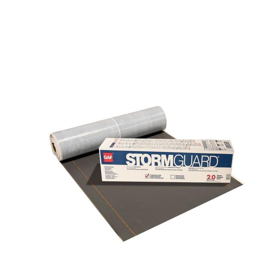 shop gaf stormguard 36 in x 66 ft 200 sq ft polypropylene