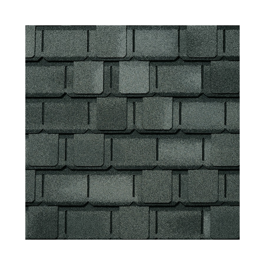 GAF Camelot 14.286-sq ft Antique Slate Laminated Architectural Roof Shingles