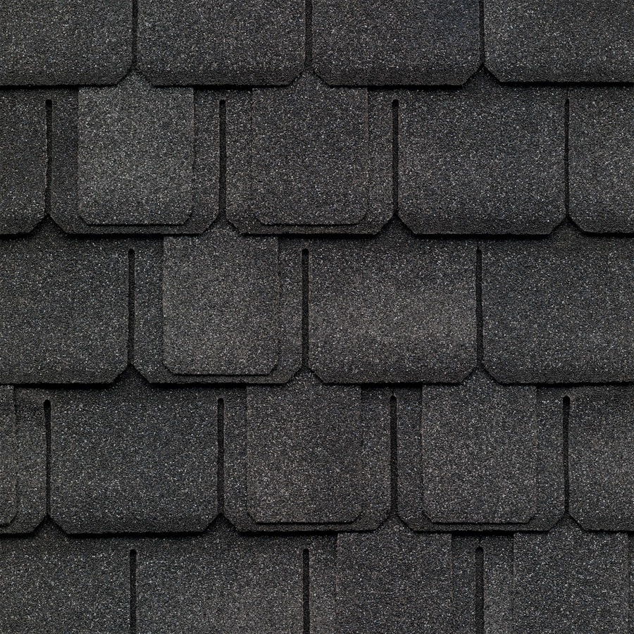 GAF Camelot 14.286-sq ft Welsh Gray Laminated Architectural Roof Shingles