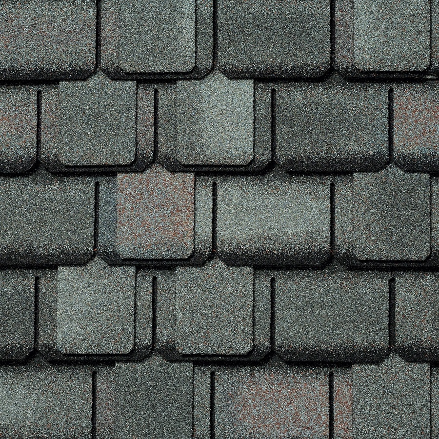 GAF Camelot 14.286-sq ft Williamsburg Slate Laminated Architectural Roof Shingles