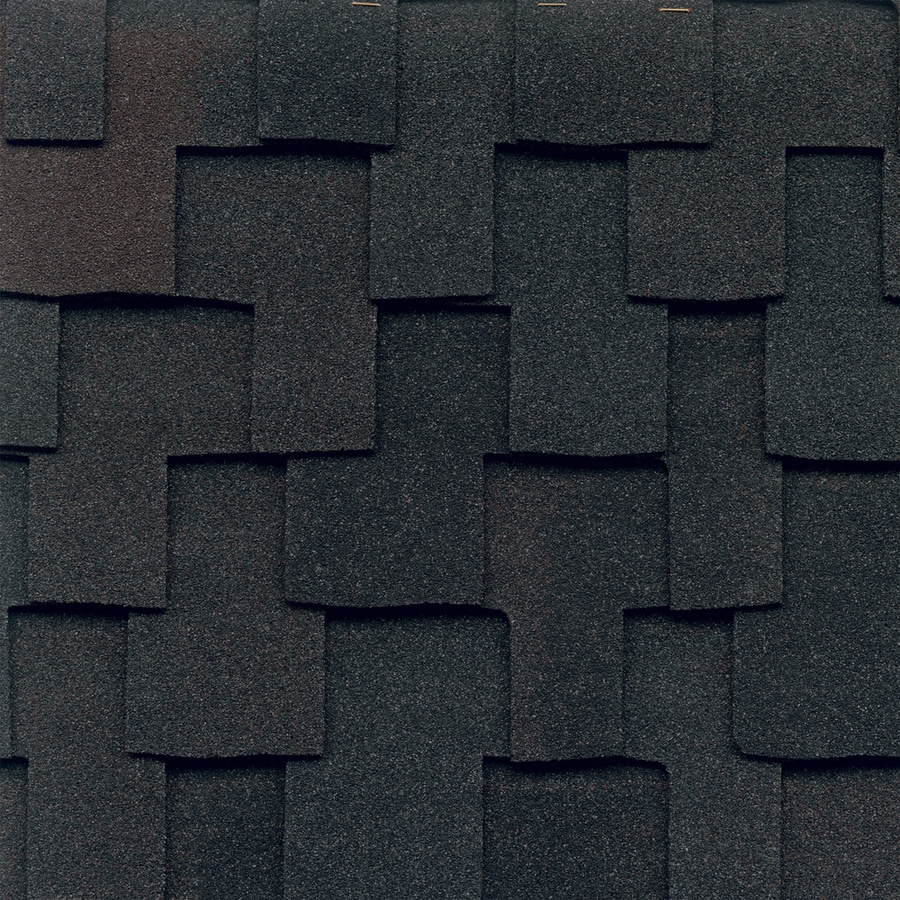 GAF Grand Canyon 16.667-sq ft Black Oak Laminated Architectural Roof Shingles