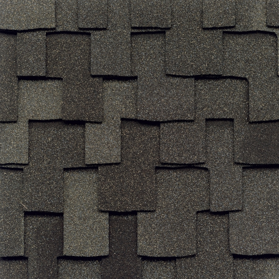 GAF Grand Canyon 16.667-sq ft Mission Brown Laminated Architectural Roof Shingles