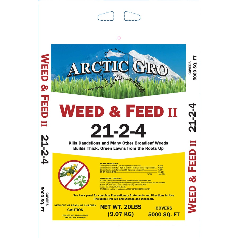 Arctic Gro 5,000-sq ft Weed and Feed Lawn Fertilizer (21-2-4)