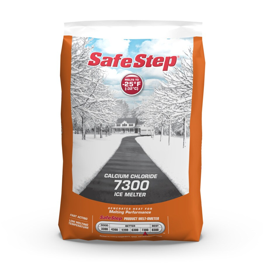 SafeStep 50-lb Bag Calcium Chloride Ice Melt 7300