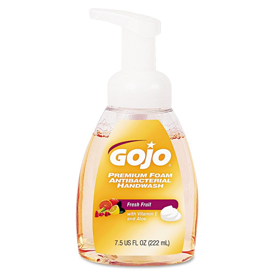 GOJO 7.5-fl oz Antibacterial Foaming Fresh Fruit Hand Soap