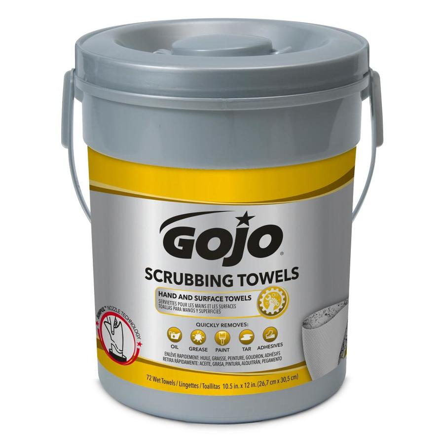GOJO Scrubbing Towels 72 Count Citrus Hand Soap