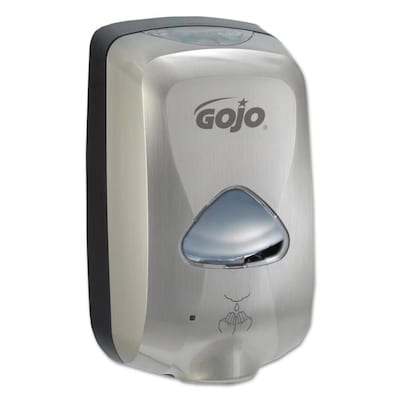 Fabulous Gojo Nickel Automatic Commercial Soap Dispenser At Lowes Com Download Free Architecture Designs Scobabritishbridgeorg
