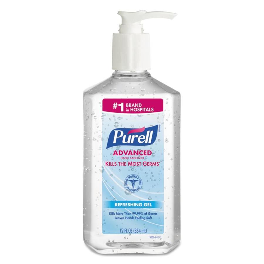 PURELL Fragrance-Free Hand Sanitizer Gel