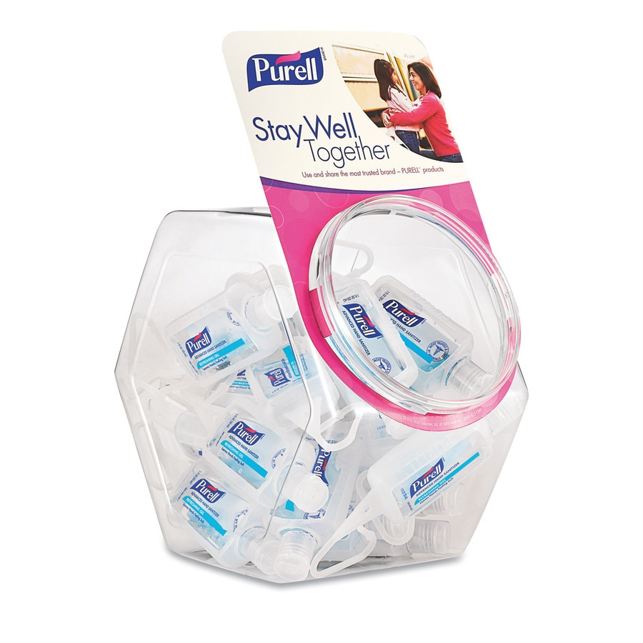PURELL 25-Count Fragrance-Free Hand Sanitizer Gel