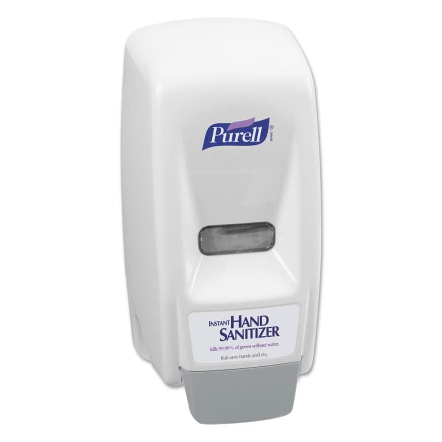 GOJO White Pump Commercial Soap Dispenser