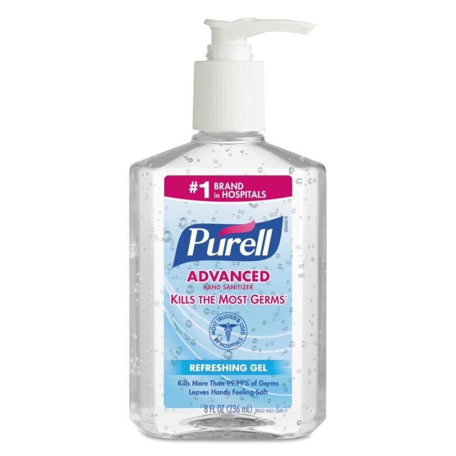 PURELL 8-oz Unscented Hand Sanitizer Gel
