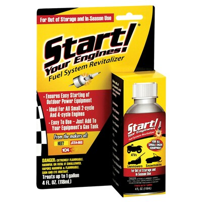 Start Your Engines! 4-oz Fuel Additive at Lowes com