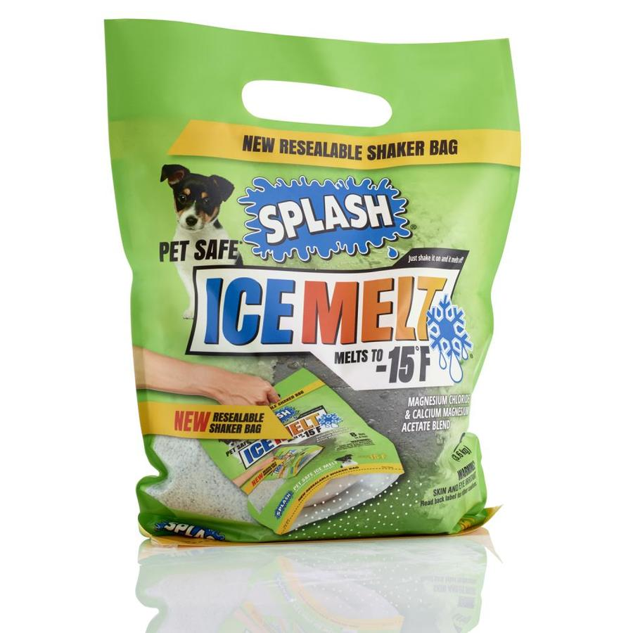 SPLASH Pet Safe Ice Melt 8 lb Shaker Bag