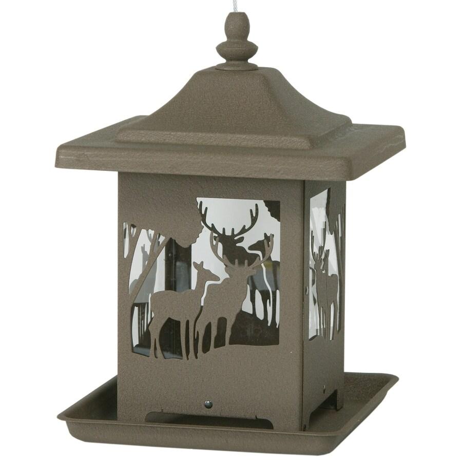 Homestead Metal Hopper Bird Feeder