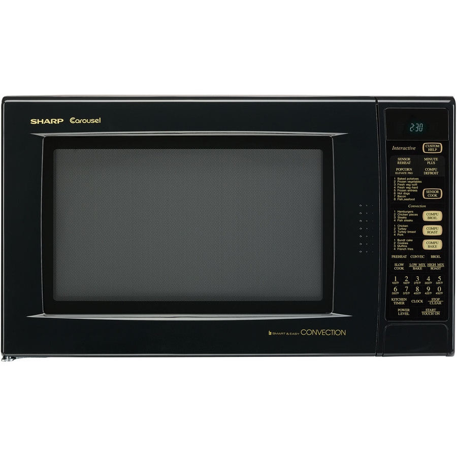 Shop Sharp 1 5 Cu Ft 900 Watt Countertop Convection