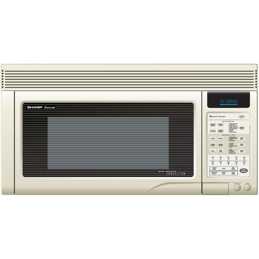 Sharp 1 Cu Ft Over The Range Convection Microwave Bisque