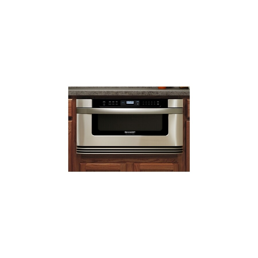 Sharp 23 7 8 Inch 1 Cu Ft Microwave Convection Drawer
