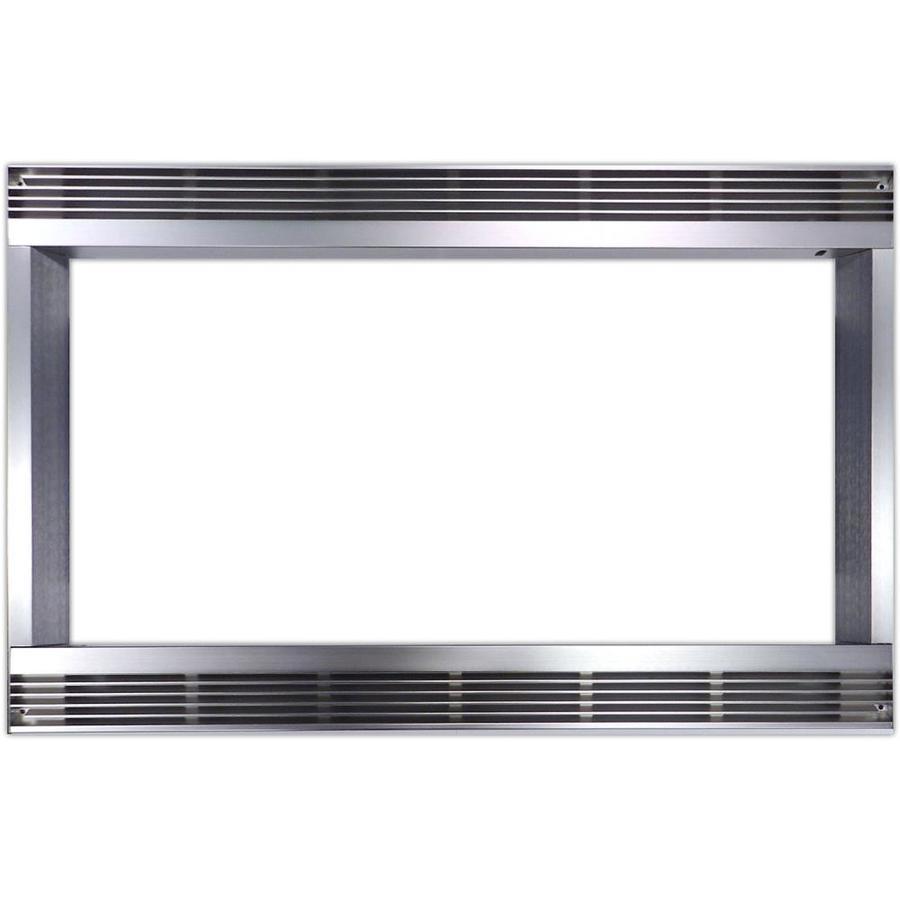 Sharp Built In Microwave Trim Kit Stainless Steel