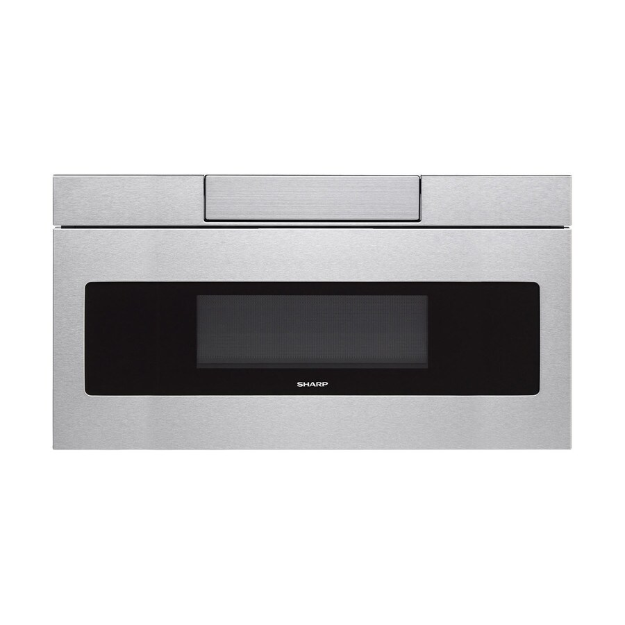 Shop Sharp 1 2 Cu Ft Microwave Drawer Stainless Steel