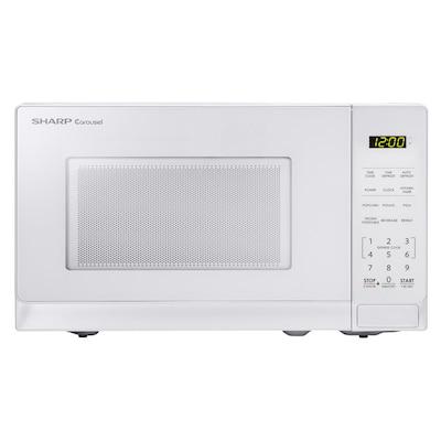 0 7 Cu Ft 700 Watt Countertop Microwave White