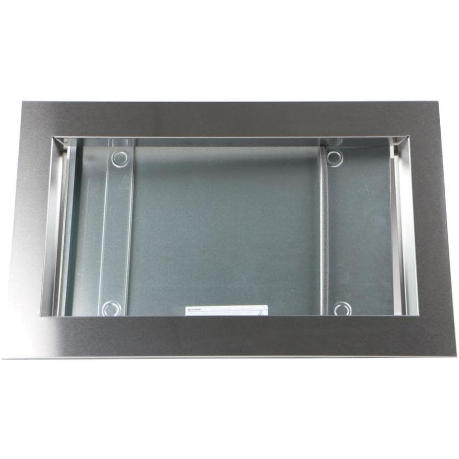 Sharp Built In Microwave Trim Kit Stainless Steel