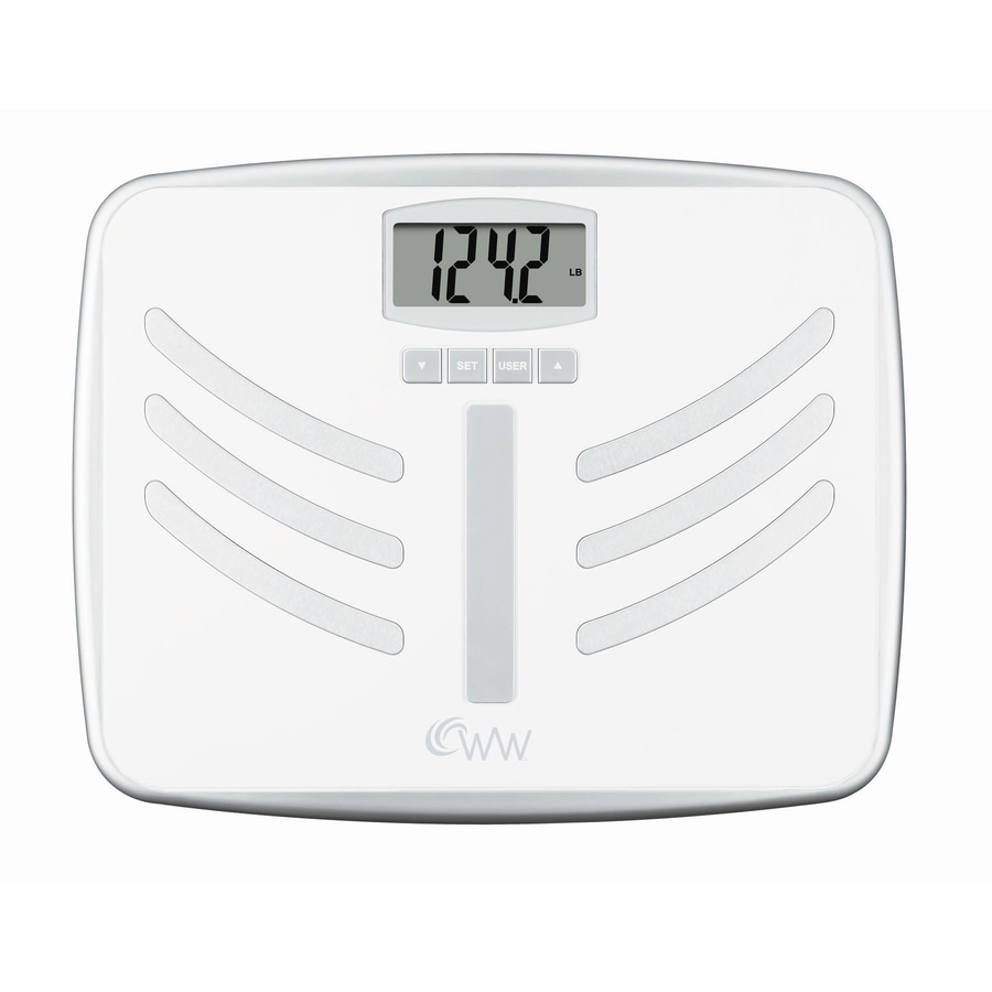 Shop Weight Watchers Scale With Long Life Battery At Lowes