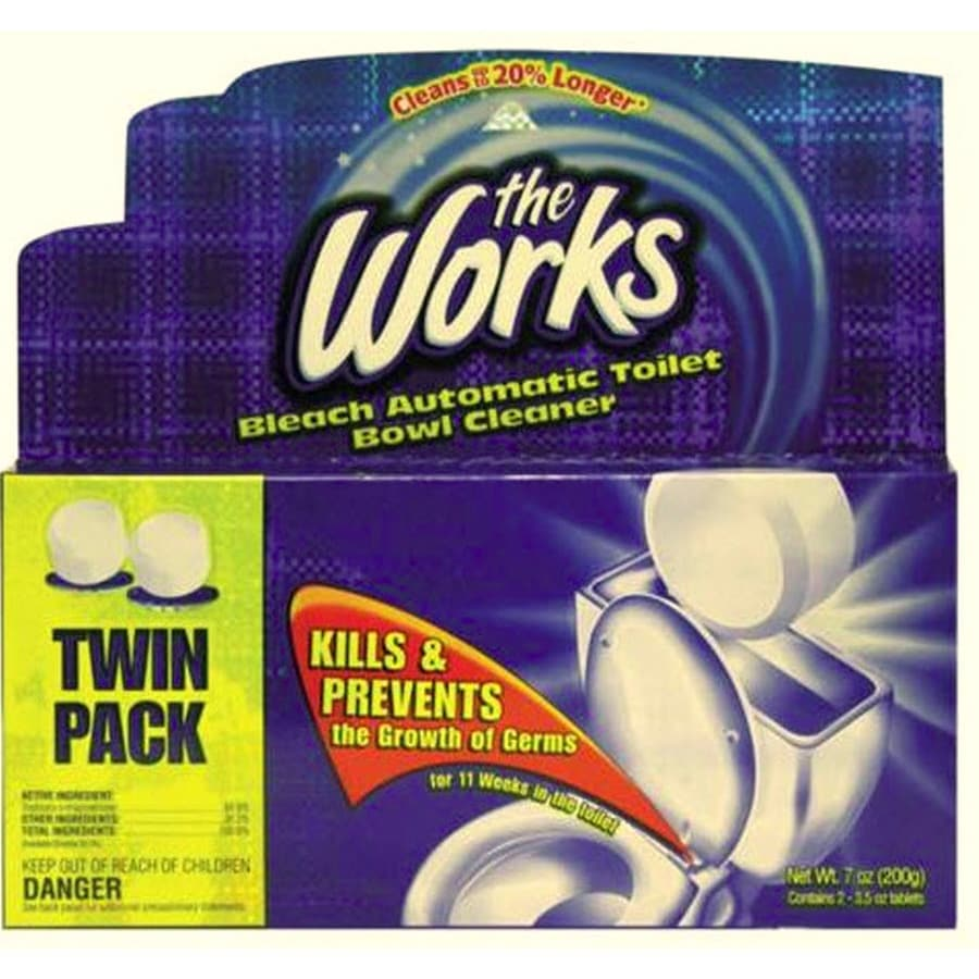 The Works 2-Count Toilet Bowl Cleaner